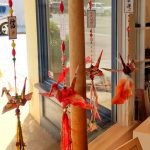 Tasseled Paper Cranes at the Tracy Grand Art Gallery