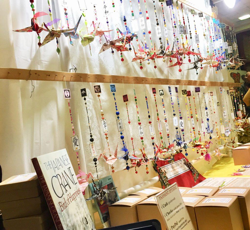 Lodi Sandhill Crane Festival Booth