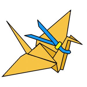 Paper Crane Icon For Rhett's Paper Cranes