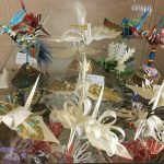 Paper Cranettes on Display