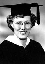 Evelyn Haertig College Graduation