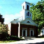 Mason Public School formerly the Christian Church, built 1834 in Mason's Center