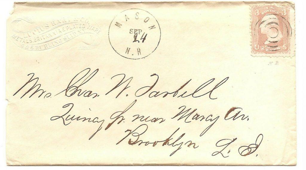 Chars. W. Tarbell Envelope