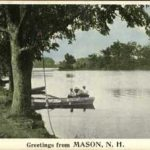 """Greetings from Mason, N.H."" about 1900"