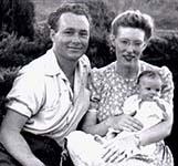 Milt & Evelyn Haertig with baby Rhett