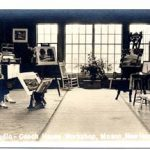"""The Studio Coach House Workshop, Mason, New Hampshire"""