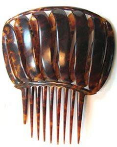 tortoiseshell hair comb