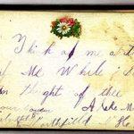 Alice M Lee 1887 Autograph Book