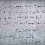 Annie G CREIGHTON 1906 Autograph Book