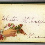 Clinton M CREIGHTON Autograph Book Page
