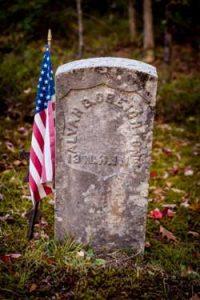Alvah Creighton tombstone, Mason, NH