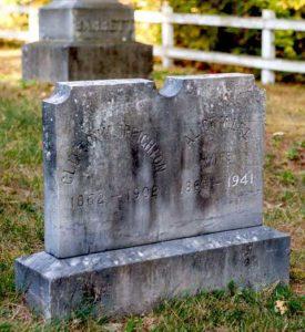 Clinton Creighton tombstone, Mason, NH