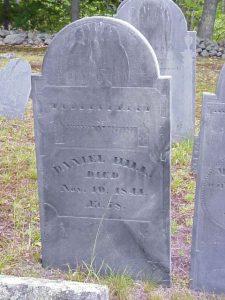 Daniel Hill Tombstone, Mason, NH