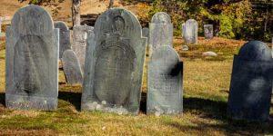 Jefts tombstones, Mason, NH
