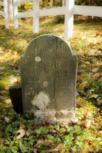 Tombstone of Jonathan Jefts, Mason, NH