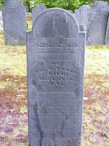 William B. Flagg tombstone, Mason, NH